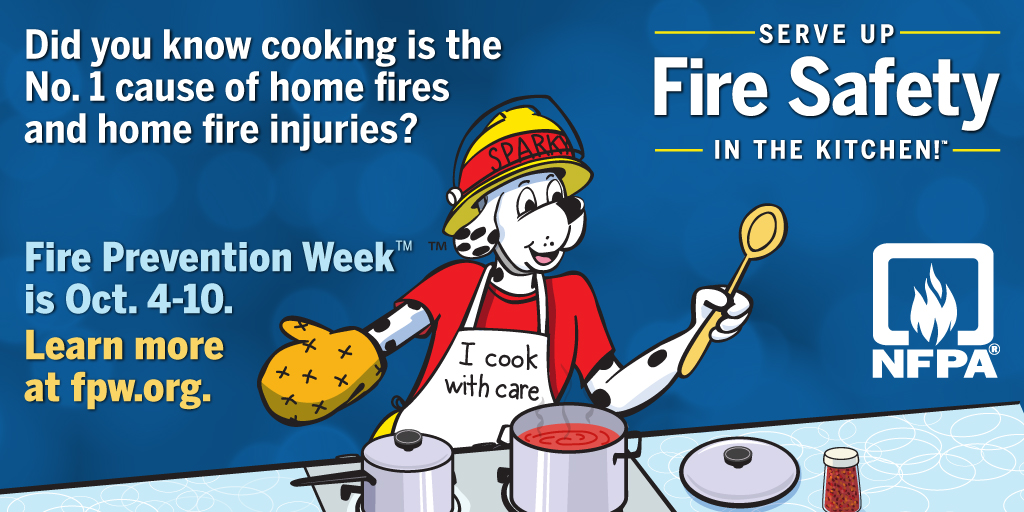 Today is the kickoff for Fire Prevention Week! Here at WSFR we spend the entire ... 3